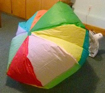 Hot air balloon construction for How to make a small air balloon
