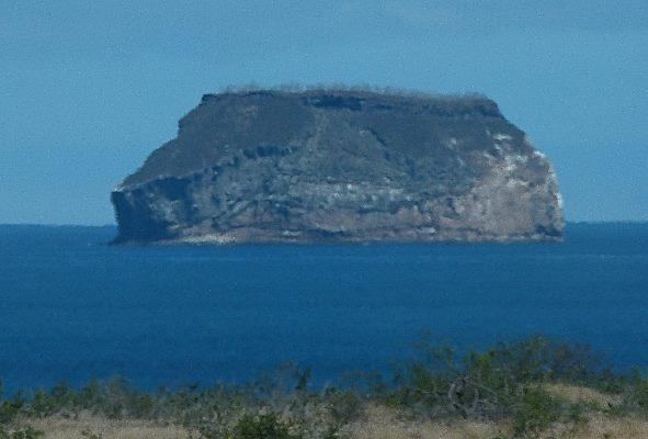 Ferry From Baltra Island To Santa Cruz Island